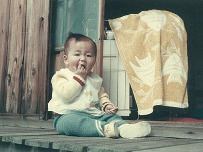 幼少期写真